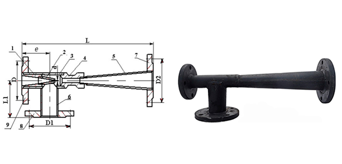 Элеваторы водоструйные стальные 40с10бк фланцевые
