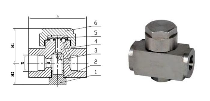 Конденсатоотводчик термодинамический (Ру 1,6-4,0 МПа) муфтовый/под приварку 45с13нж
