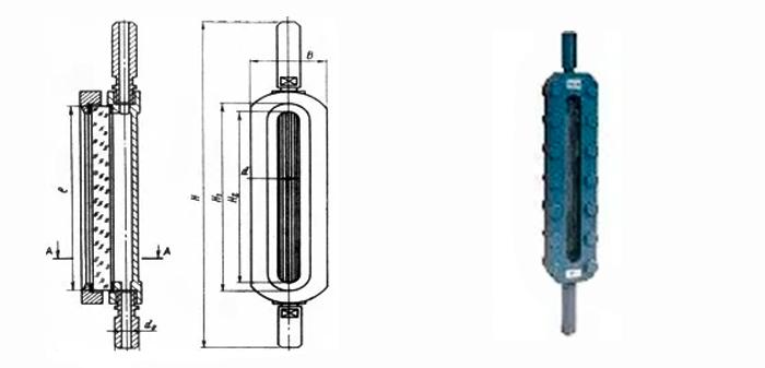 Указатель уровня жидкости 12с11бк Ру25