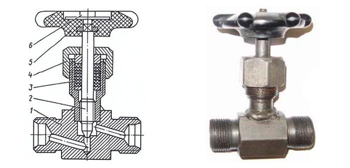 Вентиль 15с54бк стальной цапковый Ру 160