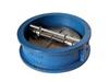 Клапан обратный чугунный поворотный двустворчатый (Ру 1,6 МПа) межфланцевый (аналог 19ч21бр)